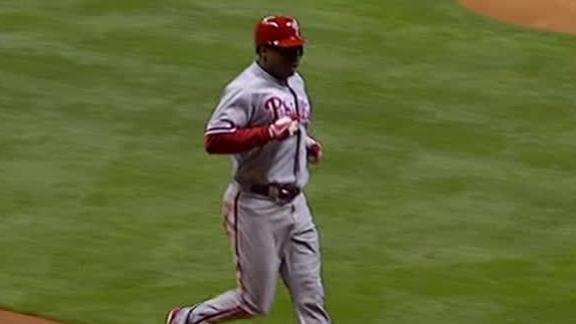 Video - Phillies Cruise Past Brewers