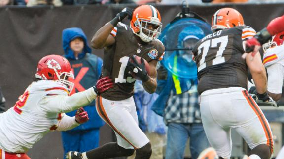 Browns WR Gordon suspended for 2 games