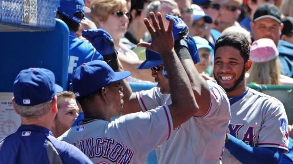 Video - Beltre's Homer Helps Rangers Avoid Sweep