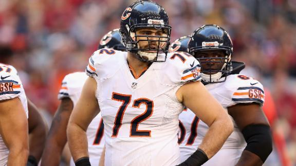 Bears trade offensive lineman Gabe Carimi to Buccaneers