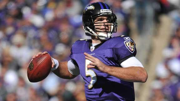 Video - Flacco Taking Over Leadership Role