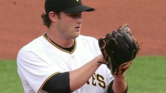 Cole drives in 2, earns win in Pirates debut