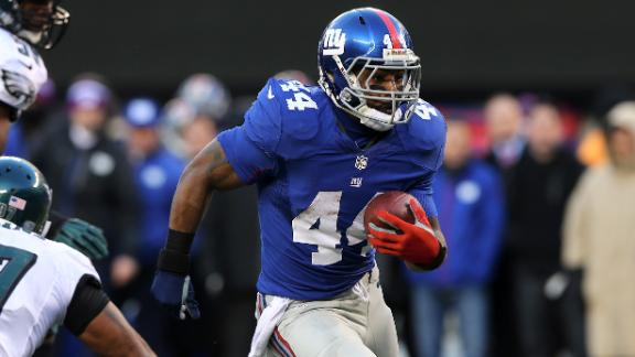 Ex-Giants RB Bradshaw agrees with Colts