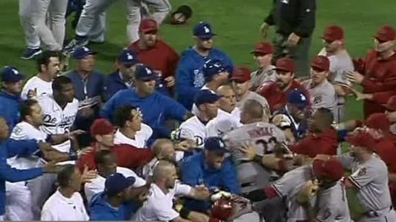 Video - Heated Brawl Overshadows Dodgers Win