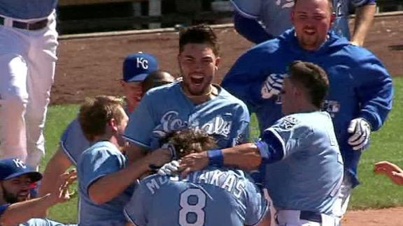 Video - Royals Rally, Walk Off In 10th