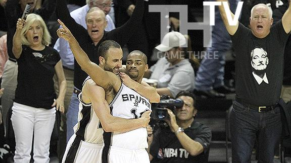 Video - Spurs in a Rout