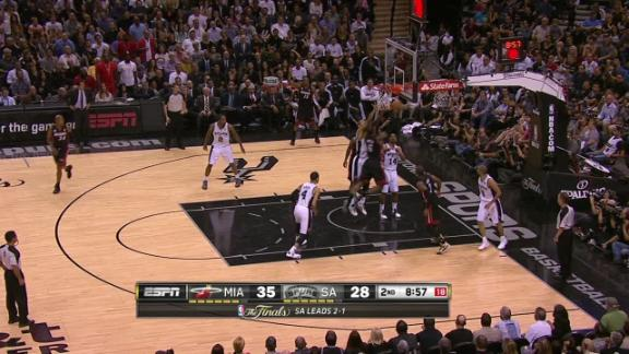 Video - Wade and LeBron take over