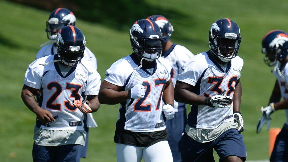 Broncos Look To Future At Running Back