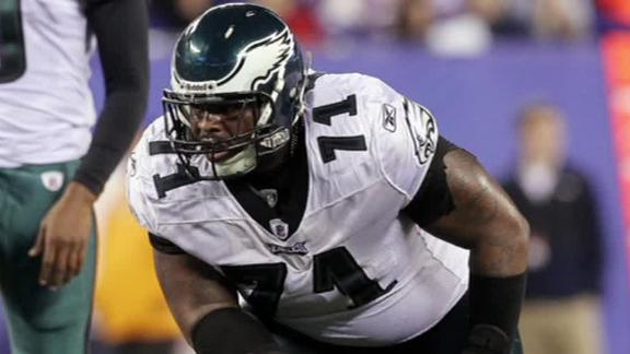 Report: Eagles' Peters arrested for drag racing