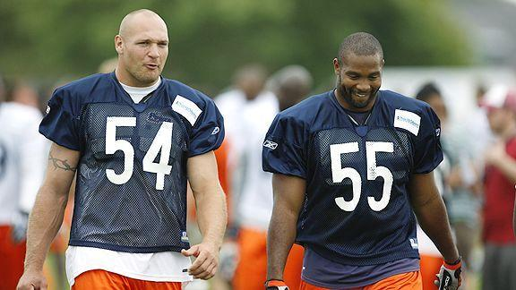 Video - Briggs On Friendship With Brian Urlacher
