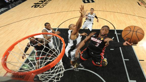 2013 NBA playoffs -- San Antonio Spurs and Miami Heat think thr…