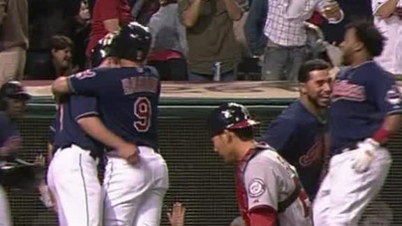 Video - Indians Walk Off With Win