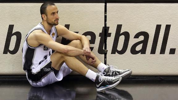 2013 NBA Finals: Manu Ginobili 'surprised' by struggles