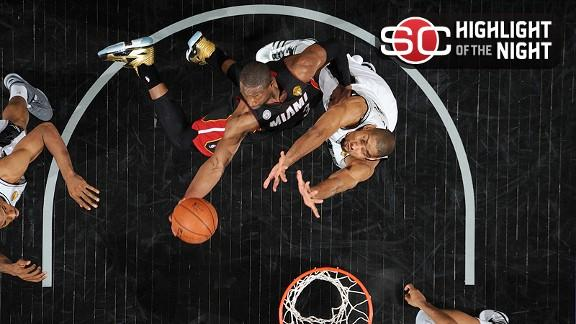 Video - Heat Win To Even Series With Spurs