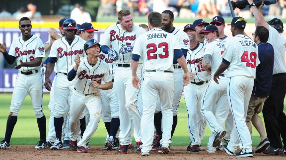 Video - Braves Rally For Walk-Off Win