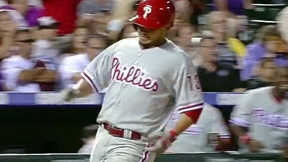 Video - Phillies Come Back To Top Rockies