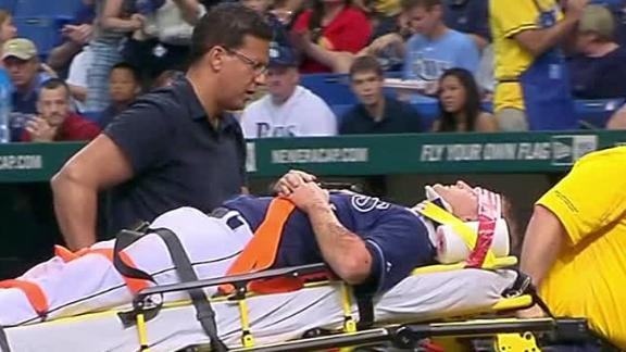 Rays' Cobb out of St. Petersburg hospital