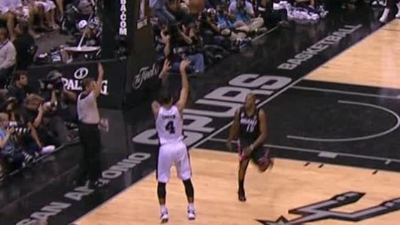 Video - Danny Green Still Hot From 3