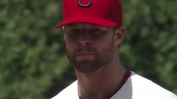 Video - Indians Spoil Strasburg's Return