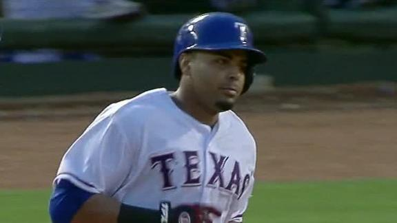 Cruz blasts 2 as Rangers snap 6-game skid