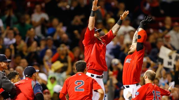 Video - Red Sox Walk Off To Sweep Rays