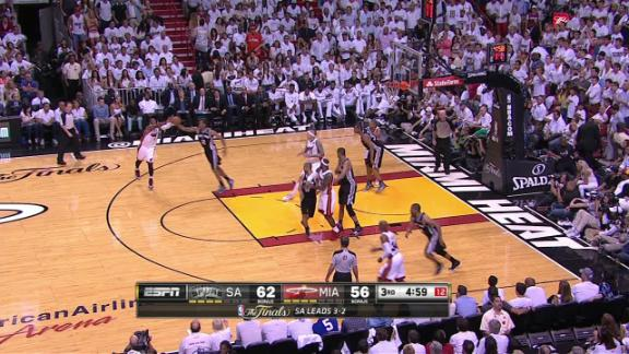 Video - Leonard's Defense Leads To Offense