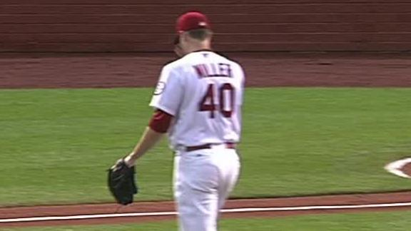 Video - Miller Leaves Early In Cardinals' Win