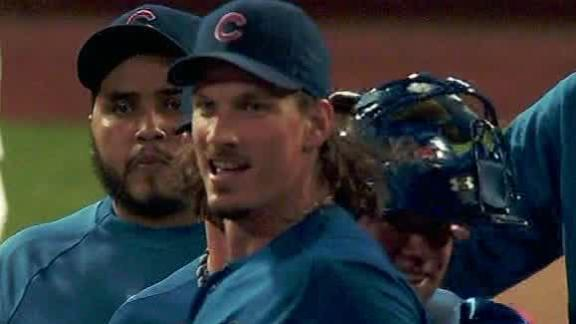 Samardzija nearly goes distance to lift Cubs