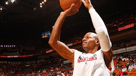 Video - Ray Allen's Shooting Routine