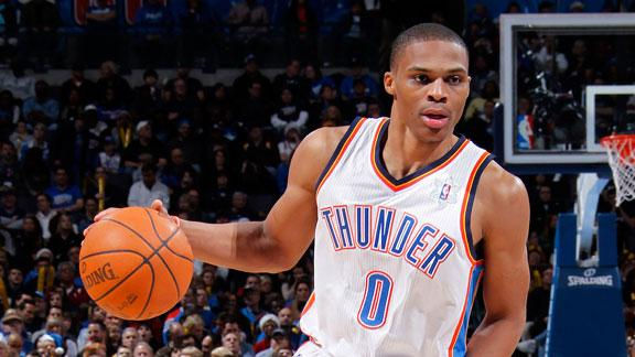 Video - Westbrook No Longer Needs Crutches
