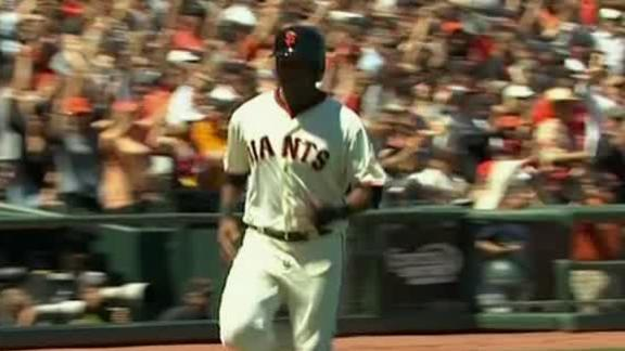 Giants Double Up Padres
