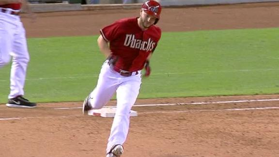 Ross' HR in 8th lifts D-backs; Cahill injured