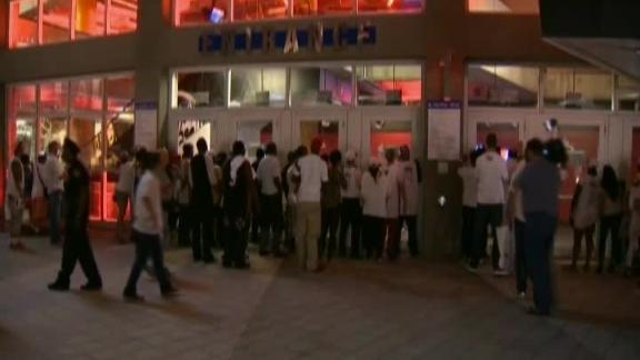 Video - Heat Fans Denied Reentry