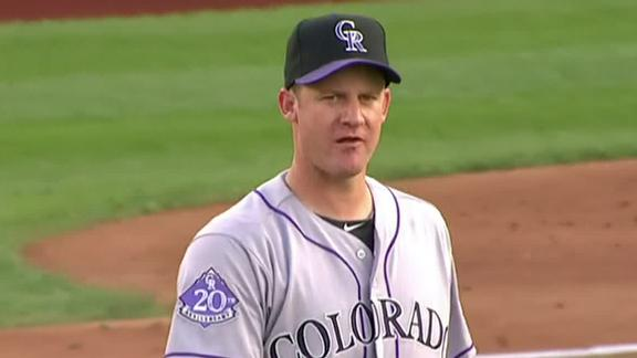 Video - Rockies Fall In Oswalt's Debut