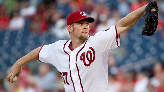 Video - Strasburg Leads Nationals Past Rockies