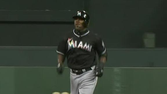 Video - Marlins Rally To Edge Giants