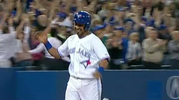 Jays win 9th straight, now .500 on season