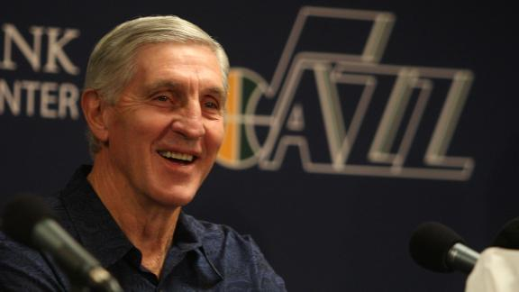 Jerry Sloan has just rejoined the Utah Jazz as a senior basketb…