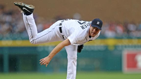 Scherzer wins MLB-best 11th as Tigers roll