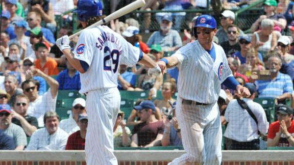 Video - Sweeney's Huge Day Lifts Cubs