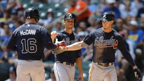 Video - McCann's Grand Slam Sparks Braves