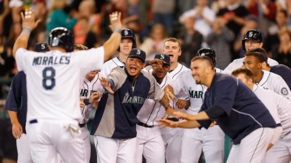 Video - Morales, Mariners Walk Off vs. A's