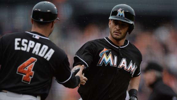 Video - Ruggiano Hits 2 Homers In Marlins Win