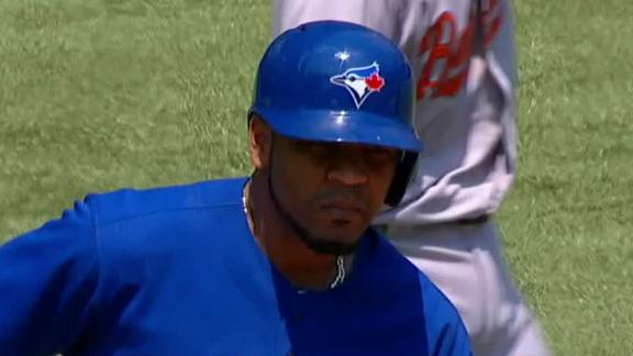 Encarnacion, Johnson lift Jays to 11th in row