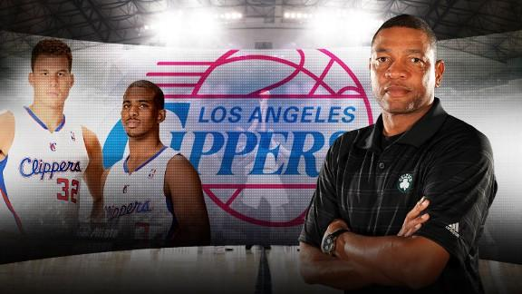 Rivers introduced as Clippers' new coach and senior VP