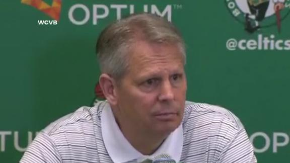 Video - Ainge Responds To Rivers Heading To L.A.