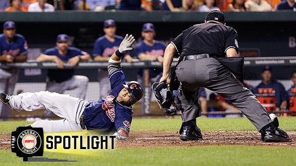 Video - Brantley, Indians Top Orioles
