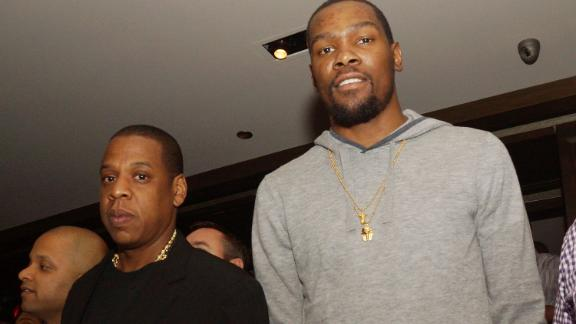 Durant signs with Jay-Z's Roc Nation agency