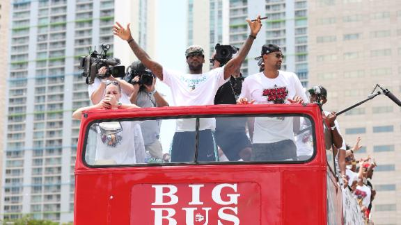 Video - Miami Celebrates Title
