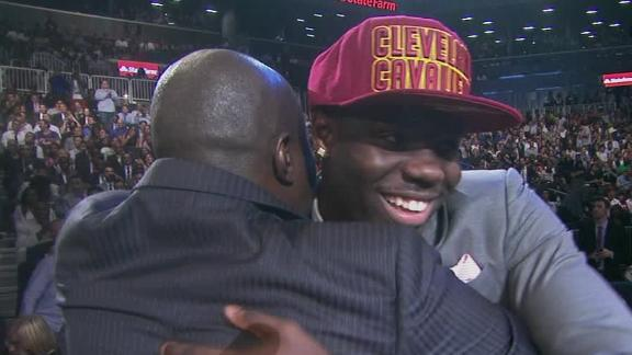Cavs select UNLV F Bennett with No. 1 pick